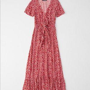 NWT Abercrombie Petite Maxi Dress